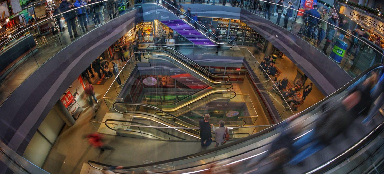 extenda retail forside illustrasjonsbilde av et kjøpesenter