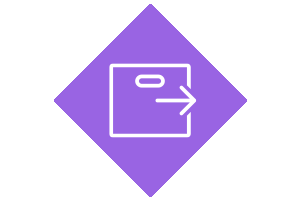 WMS product area icon box with arrow