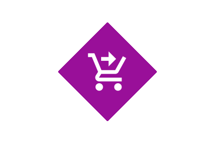 Pos product icon shopping chart