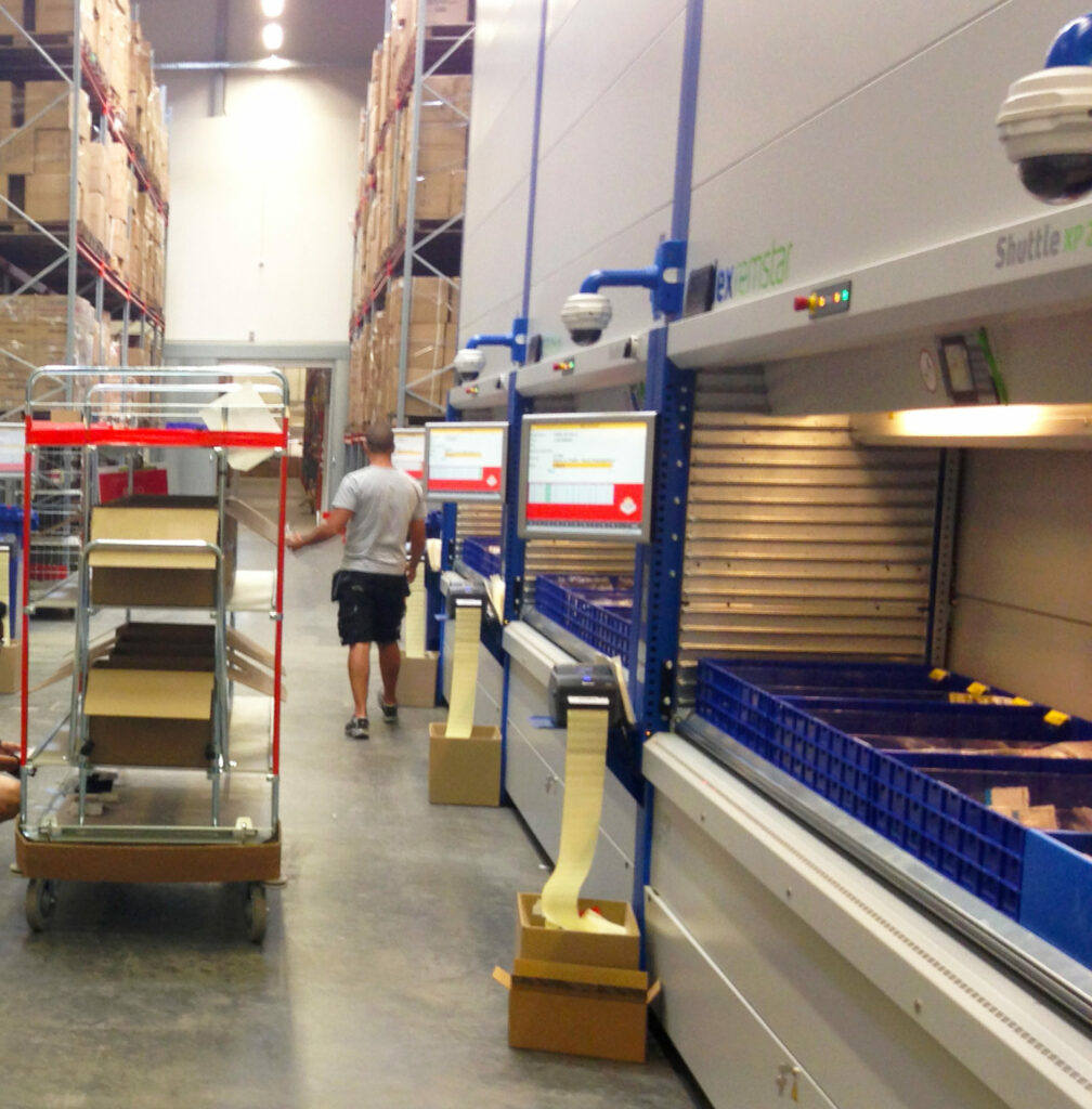 Warehouse automation and Vertical Storage Lifts