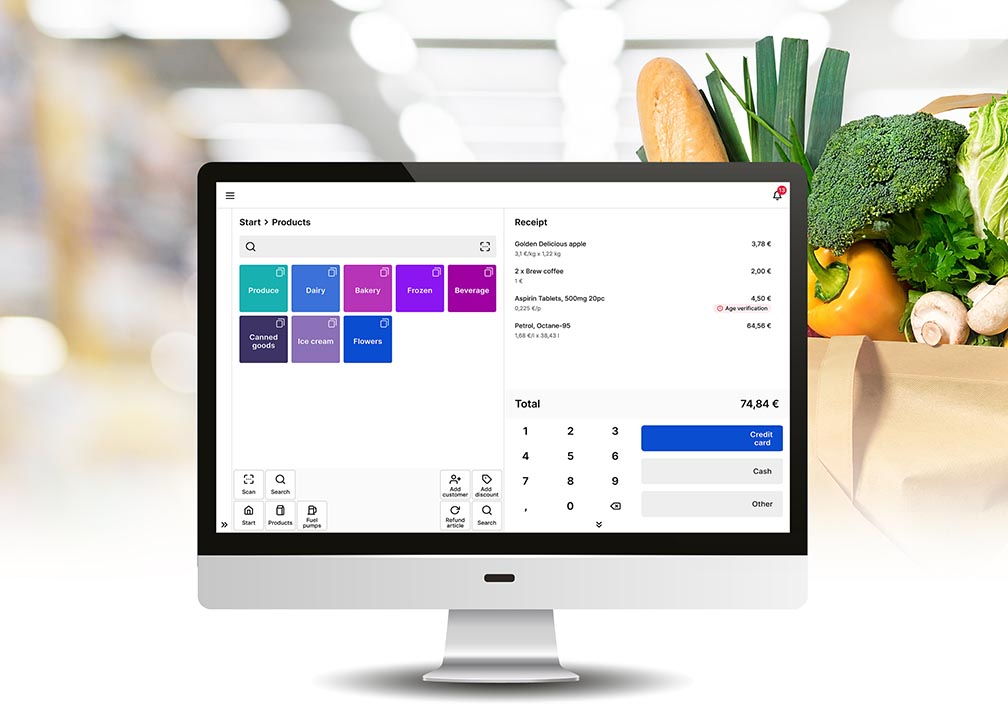 Hii Checkout – a cloud-based, scalable SaaS (Software as a Service) Point of Sale (POS) solution
